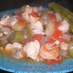 Shrimp and Catfish Gumbo