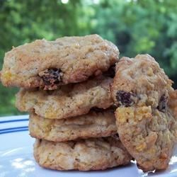 Apricot Raisin Cookies Recipe - These cookies are fruity and spicy...very delicious!