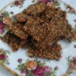 Gluten-Free Dehydrated Rosemary and Cranberry Crisps  Recipe - Rosemary and cranberry crisps made in the food dehydrator are naturally gluten-free, loaded with fruits and vegetables, and kid-friendly.