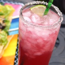 Prickly Pear Cactus Margarita Recipe - Prickly pear syrup gives this cactus margarita something a little extra in this refreshing Mexican-inspired cocktail.