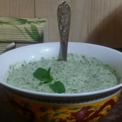 Yogurt-Mint Chutney Recipe - Try this yogurt-based sauce with your grilled meats.