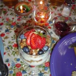 Sarah's Berry Fruit Parfait
