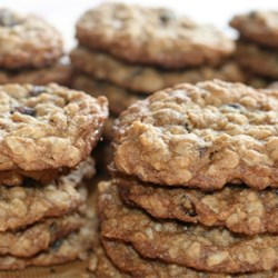 Towers of Oatmeal Cookies