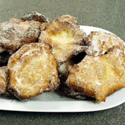 Malasadas Dois Recipe - A raised, deep fried, Portuguese donut.  Very popular as fund raisers in Southeastern Massachusetts where I grew up.