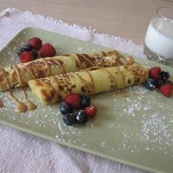 Thin Egg Pancakes
