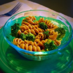 One Dish Broccoli Rotini Recipe - Try giving extra flavor to pasta by boiling it in the same water used to cook broccoli. Combine the pasta and broccoli with sauteed garlic and Parmesan, add salt and pepper to taste, then serve!