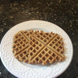 Healthy Multigrain Chia Waffles Recipe - Multigrain chia seed waffles made with oats and whole wheat flour are a hearty way to start the day.