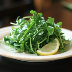 Sandy's Simple Spring Lettuce Salad Recipe - Spring greens are tossed in a homemade shallot vinaigrette creating a light and refreshing salad for lunch or dinner.