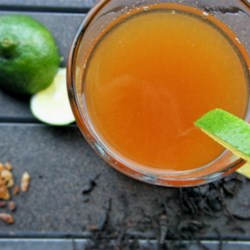 Chai Limeade Recipe - Chai tea, lime juice, and lime zest come together in this refreshing chai limeade perfect for hot summer days.