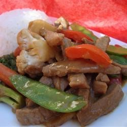 Pork in Peanut Sauce