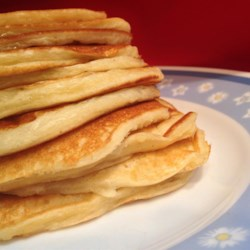 Greek Yogurt Pancakes Recipe - Greek yogurt pancakes with Greek yogurt, eggs, flour, and baking soda are hot and ready to eat in 15 minutes.