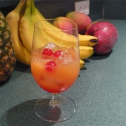 Popped Cherry Recipe - This is a screwdriver with a twist, and quite yummy!