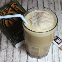 Almond Milk Frappuccino(R) Recipe - This almond milk Frappuccino(R) uses 4 simple ingredients and is a homemade version of the coffee shop-favorite.