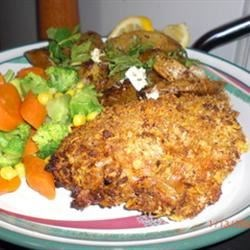 Linda's Fake and Bake Chicken Recipe - This is one of my most requested recipes.  It is the best 'non-fried' chicken recipe that I've tasted. Chicken is battered and breaded, but then baked instead of fried.