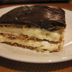 Chocolate Eclair Dessert Recipe and Video - This is a no-bake pudding dessert that's so quick and easy to make--everyone loves it. I always keep the ingredients on hand in case I need a quick dessert. It's best if it sits overnight before serving.