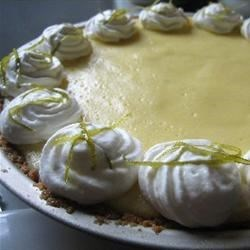 Easy Key Lime Pie I: I used 1½ times the filling amount, for a nice big pie.