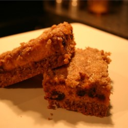 Pumpkin Pie Bars Recipe - These bars are very easy to make and taste like pumpkin pie with a streusel topping.