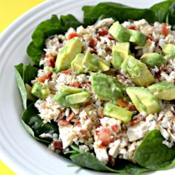 Wholewheat Tuna Treat Recipe - A succulent whole wheat tuna dish with bacon and avocado. Serve as a meal or as a salad.