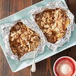 Grilled Apple Almond Cinnamon Crisp Recipe - Allrecipes.com