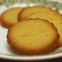 Butter Cookies V Recipe - Prepare these refrigerator cookies weeks in advance for the freezer, then take them out and bake them on demand. Wow, that's convenience.