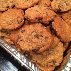 Sarah's Raisin Cookies Recipe - A hint of almond flavor makes these special.  They don't last long in our cookie jar!