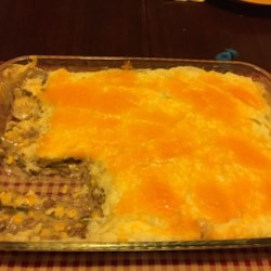 Poor Man's Pie Recipe - A pound of ground beef, a couple of pantry items, and some mashed potatoes are all you need to make a family-satisfying and budget-friendly cottage pie for supper.