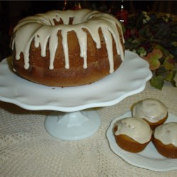 Pumpkin Cake I Recipe - Even though pumpkin is a fall favorite, this spice cake recipe using canned pumpkin puree is good anytime of the year.