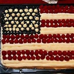 Nurys' Flag cake