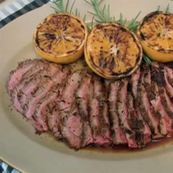Garlic Fennel Flank Steak with Oranges  Recipe - Chef John's recipe for garlic fennel flank steak with oranges draws inspiration from Italian, Spanish, and Chinese cuisine.