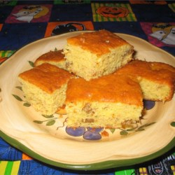 Banana Loaf Cake II Recipe - This recipe makes 2 loaves - have one now and freeze one for later.  It's very moist and tasty.