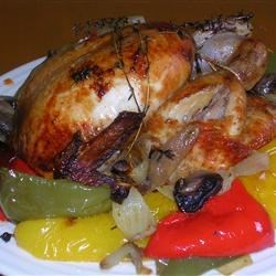 Roast Chicken with Thyme & Vegetable