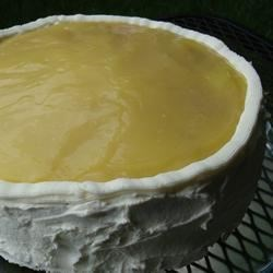 Lemon Cream Recipe - This frosting can be used on any yellow  or white layer cake.  It's very good even on a box mix.