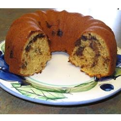 Cream Cheese Coffee Cake I Recipe - Smooth, and full of raisins, chocolate,  nuts.  SOOO good!