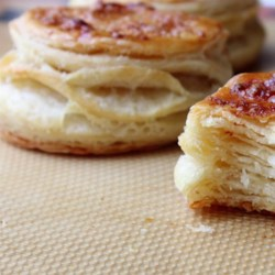 Butter Puff Biscuit Dough Recipe - Chef John's butter puff biscuit dough is a combination puff pastry and biscuit dough. It's similar to puff pastry but it's much easier to make.