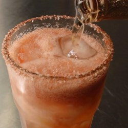 "Chef John's ""Sunset"" Michelada Recipe - Use homemade vegetable juice or store-bought tomato juice to make this Michelada: a spicy, savory, tangy, and amazingly refreshing beer cocktail."