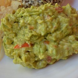Wickwire Guacamole Recipe - This simple and quick guacamole is just avocado, mayonnaise, black pepper, and hot sauce.