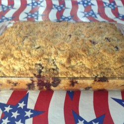 Grandma's Blueberry Buckle Recipe - Grandma's blueberry buckle recipe has been handed down through the generations and is perfect to make during blueberry season.