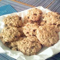 My oatmeal raisin cookies