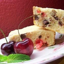 'So This Is What Heaven Tastes Like!' Cream Cheese Bars Recipe - Walnuts and maraschino cherries make this rich cream cheese bar cookie into a little taste of heaven.