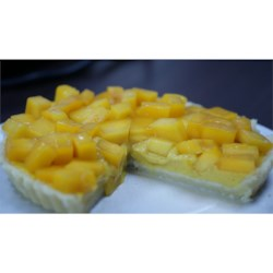Mango Custard Pie Recipe - Delicious! Use ripe mangoes for best results.