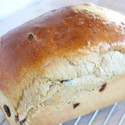 Methodist or Wesleyan Bread Recipe - This molasses-raisin bread is an old favorite from Newfoundland.