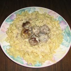Meatballs that fell off the table