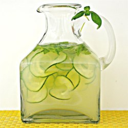 Bethy's Cucumber Basil Lemonade Recipe - Cucumber and basil lemonade is a refreshing twist on the traditional summertime beverage.