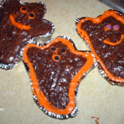 Ghost Brownies/Photo Contest