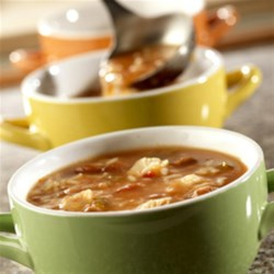 Salsa Chicken Soup Recipe - If you're in a hurry, but want a delicious homemade soup, this is the recipe for you. It blends beans, salsa, chicken and broth to make a cozy and enjoyable soup.