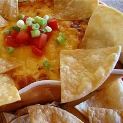 Chili Cheese Dip III Recipe - This quick, easy chili cheese dip is a little different from most, and is sure to be a favorite!