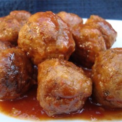 Sweet and Sour Meatballs Recipe - These meatballs are slow-cooked in a sweet and sour sauce.