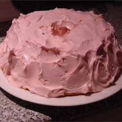 Old Fashioned Strawberry Cake with Mom's Buttercream