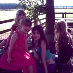 me with my sister & 2 friends