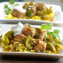 Pork Chile Verde Recipe - This Southwestern-style stew is loaded with tender chunks of pork and a variety of sweet and spicy peppers slowly cooked in a savory mixture of flavor-infused broth, green chiles and fresh cilantro. It's a mouthwatering meal that simply can't be beat!